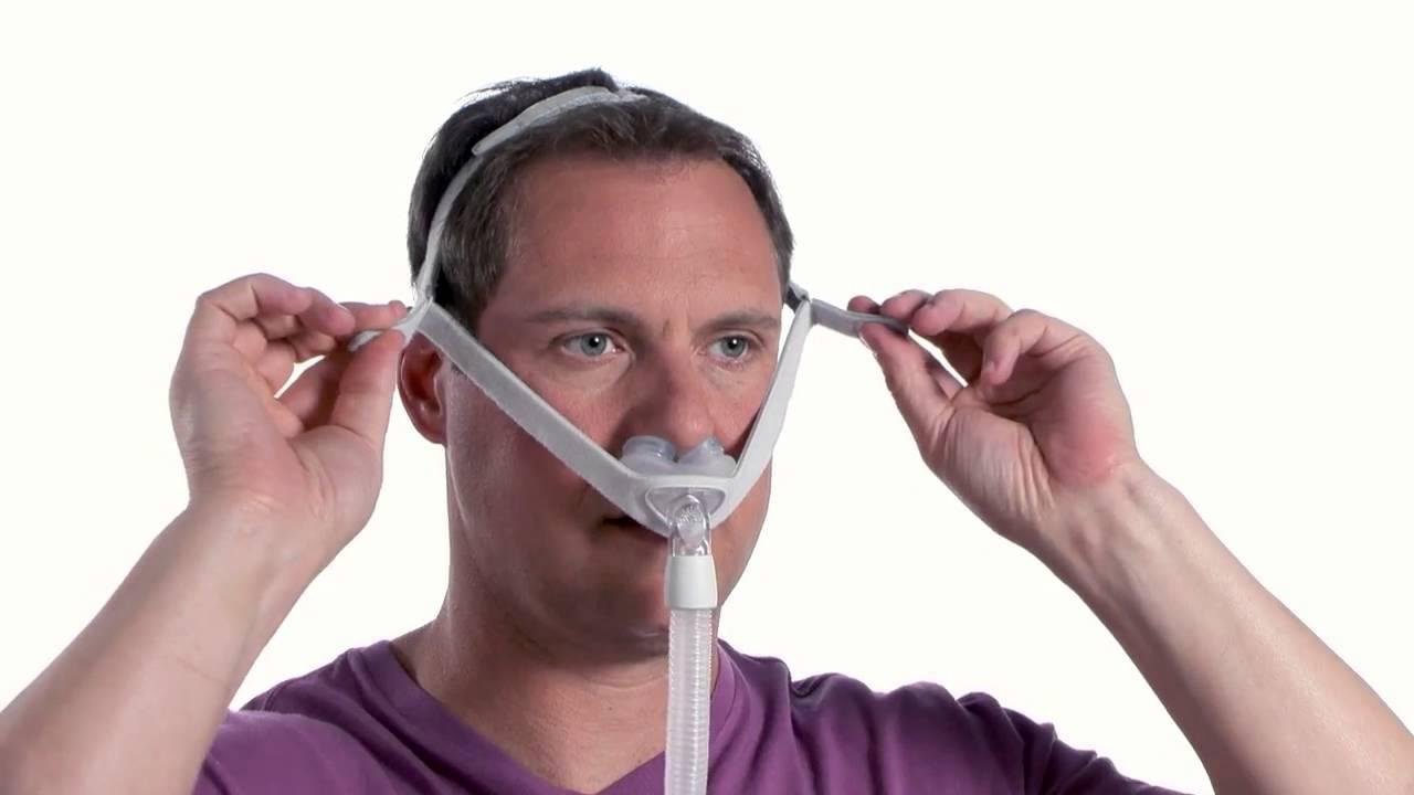 Pillow Cpap Mask. Respironics DreamWear Gel Pillow CPAP ...