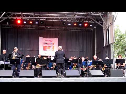 Big Band at Roc Jazz Festival   Hawaii Five-0