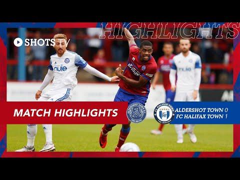Aldershot Halifax Goals And Highlights
