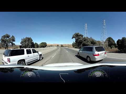 4K 360 Amazing Virtual Tour, Road to Premium Outlets, Freeway Experience, Camera on Volvo