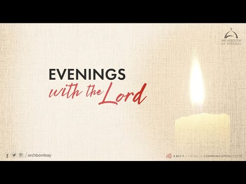 Archdiocese of Bombay - Evenings with the Lord | Deacon Cedric Rosario | Penitential Service