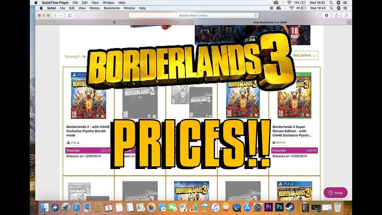 BORDERLANDS 3 PRICES ARE HERE!