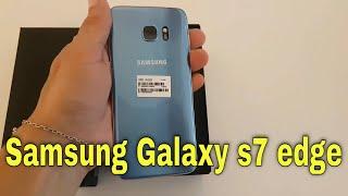Nova cor Azul  / Blue Galaxy S7 edge /S7 samsung