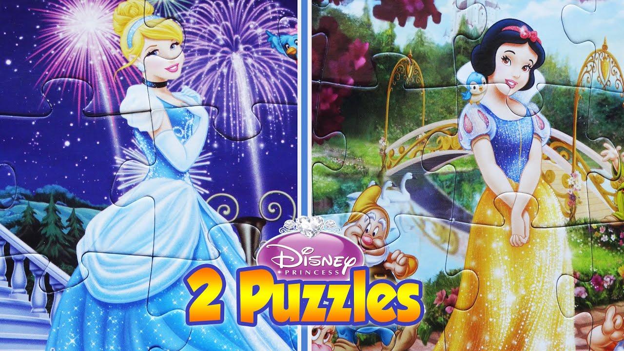 Uncategorized Cinderella Puzzle Games snow white cinderella princess disney rompecabeza jigsaw puzzle games puzzles for kids toys videos