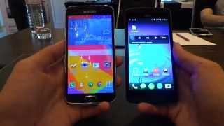 Acer Liquid E700 vs Galaxy S5 összehasonlító videó | Tech2.hu