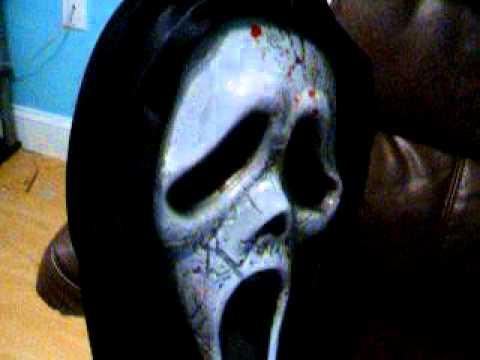 Bleeding Zombie Ghostface Scream Mask