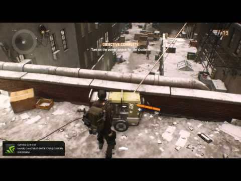 The Division, Flatiron district questing.