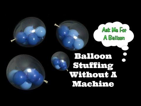 Balloons Inside A Balloon Tutorial