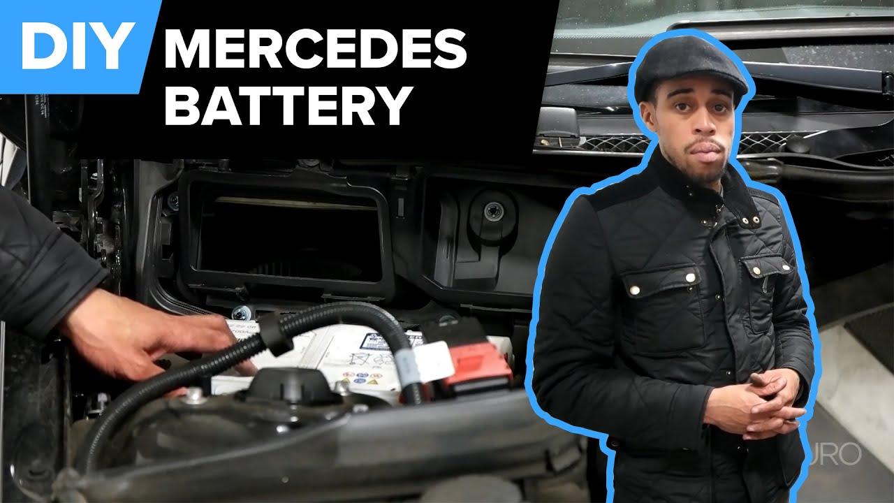 Mercedes W204 Battery Location Quick Tip C250 C300 C350