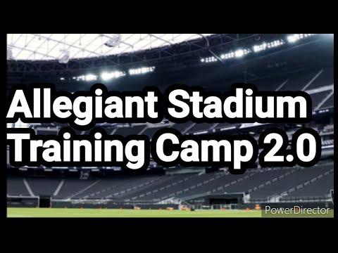 Exclusive Las Vegas Raiders Training Camp Photos At Allegiant Stadium By: Joseph Armendariz