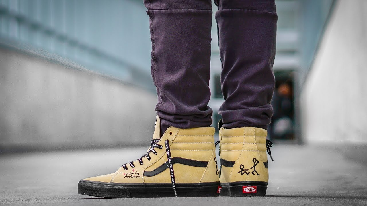 ... On Feet Shots Of Legendary Sneaker YOU CANT MISS VANS X A TRIBE CALLED  QUEST Sk8 Hi ... a94412be8