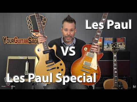 Les Paul vs Les Paul Special Comparison Which One is Better?