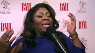 Kim Burrell interviewed at the 2015 Trailblazers of Gospel Music Awards