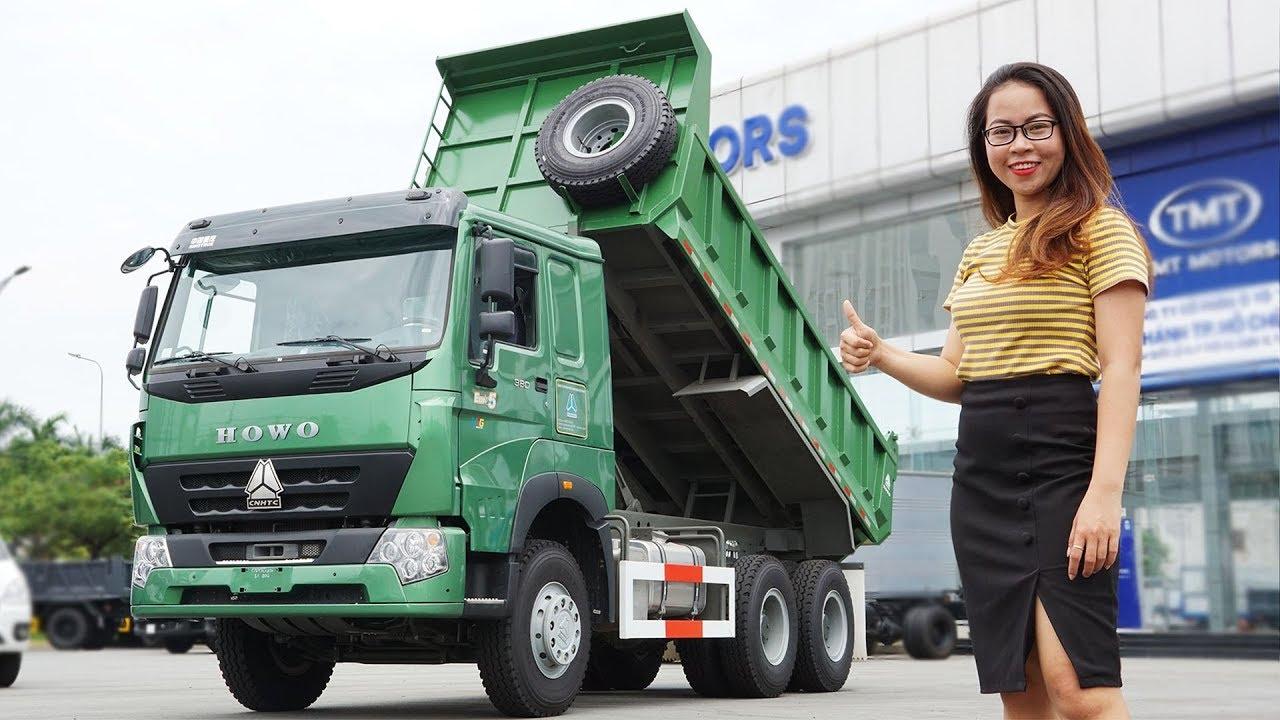Chi Tiết Xe Ben Howo 3 Chân 380Hp Euro5 2019 Cabin V7G | Gái Mê Xe | Thu Phạm