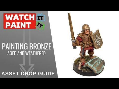How to Paint Bronze - Aged and Weathered (Asset Drop Guide)