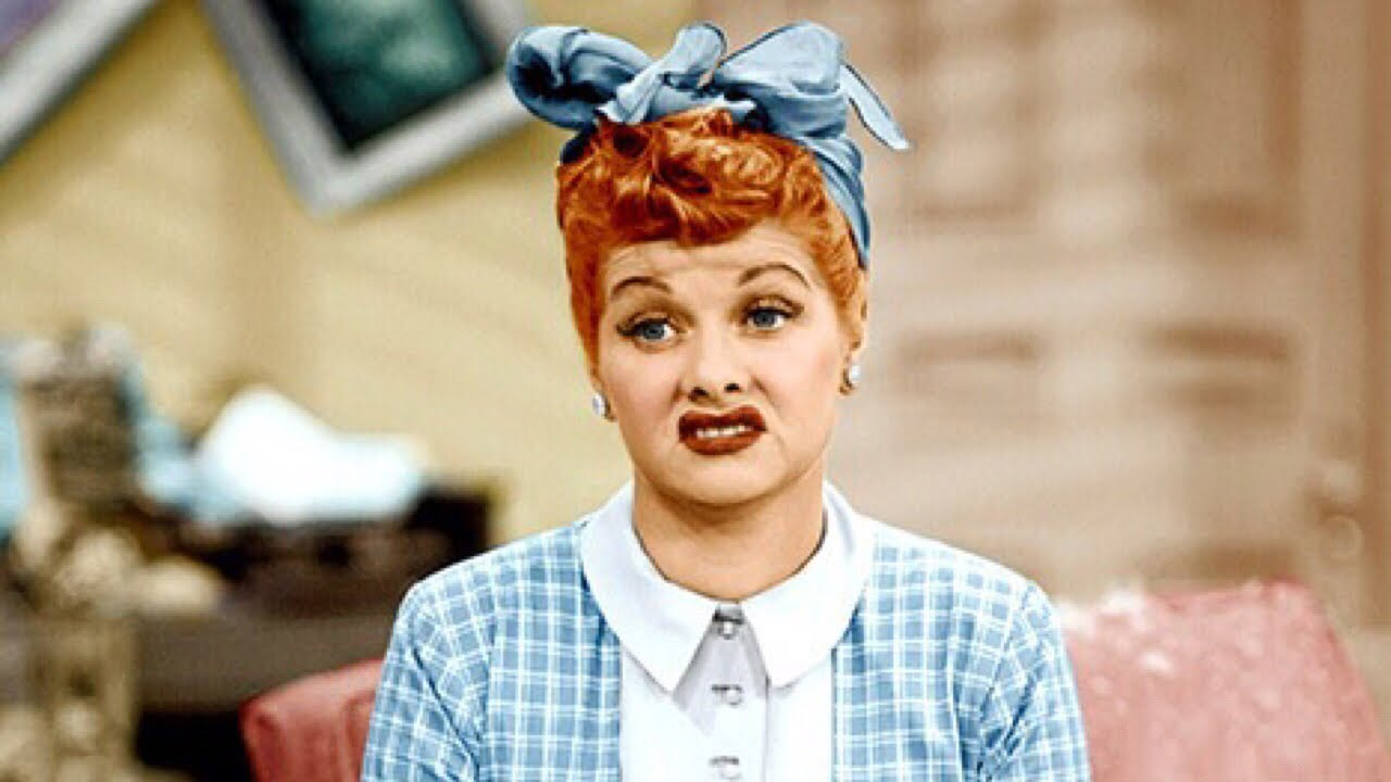 I Love Lucy Lucille Ball Color