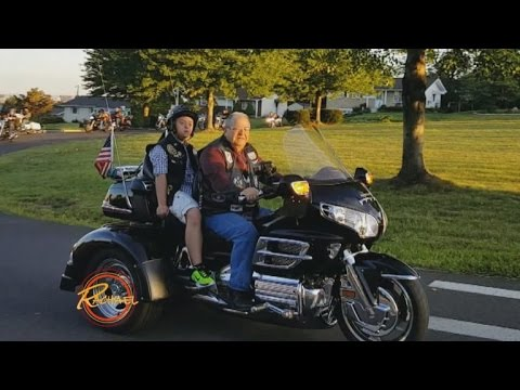 16 Bikers Escort Bullied Teen With Down Syndrome On His First Day Of School
