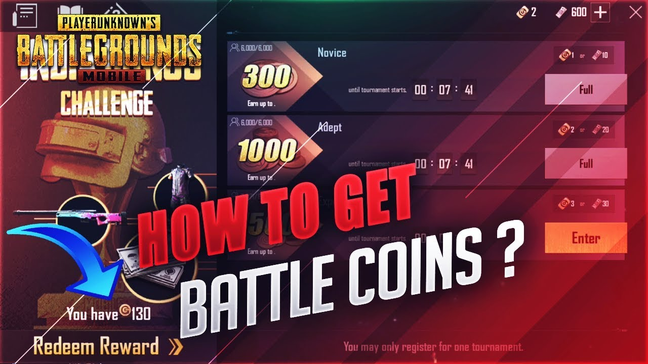 PUBG Mobile: How to Convert Battle Coin to Unknown Cash