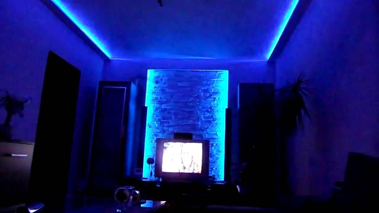 Led Kit With Remonte Podświetlenie ściany I Sufitu Led Rgb