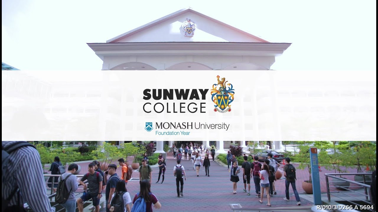 Sunway College Monash University Foundation Year (MUFY) - YouTube