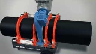 Стыковая сварка пластиковых полиэтиленовых труб(Аппараты стыковой сварки пластиковых труб Turan Makina., 2015-07-03T07:53:45.000Z)