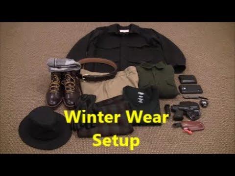 baabe39bc0b Filson Mackinaw Cruiser and Winter Wear Setup - YouTube
