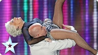 Repeat youtube video Paddy and Nico raise the bar | Britain's Got Talent 2014 Final