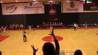 Невероятная концовка НИКА (Сыктывкар) за 1 секунду выигрывает матч у Надежды-2 (Оренбург)  03.03.16