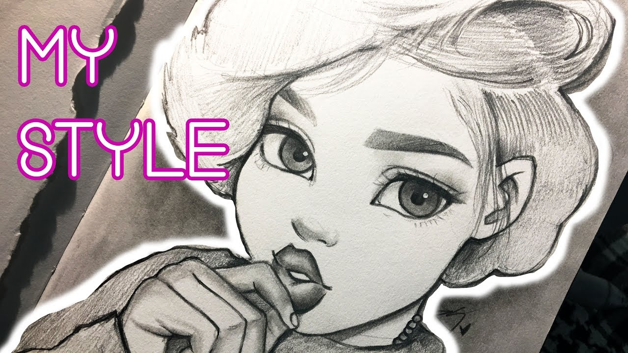 fe2c5d56736 Drawing in My Style ♡ | Pinterest Speed Drawing