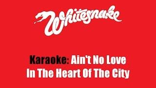 Karaoke: Whitesnake / Ain