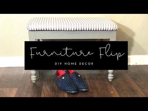 DIY Thrift Store Furniture Makeover| 2019