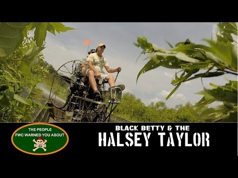 ☠ Airboat CCA - Black Betty & The Halsey Taylor