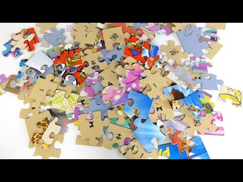 Wooden Puzzles Compilation video for kids