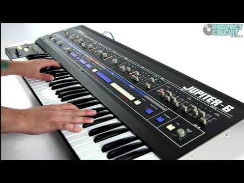 Roland Jupiter-6 Vintage Analog Synthesizer (Part 1)