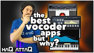 My Top 5 iOS Vocoder Apps and Why 2010 - 2019 iPad and iPhone | haQ attaQ