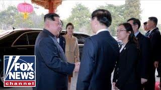 Kim Jong Un makes a surprise visit to China