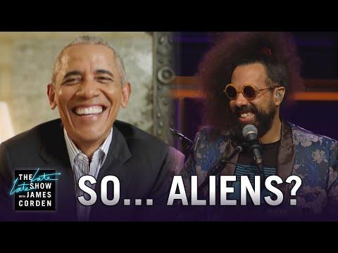 Reggie Watts to Barack Obama: What's w/ Dem Aliens?