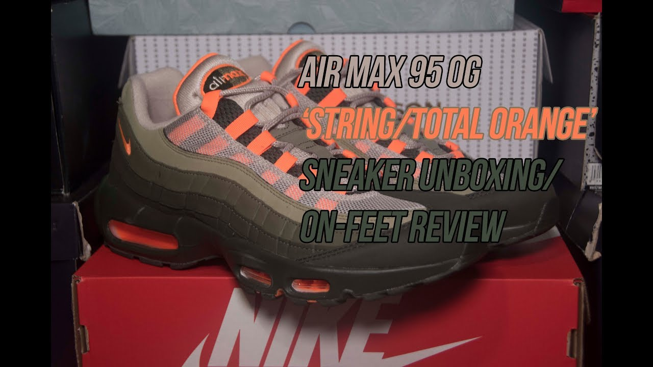 f10df7f7596 Air Max 95 OG  String Total Orange