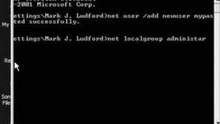 How To Create An Admin User Account via CMD