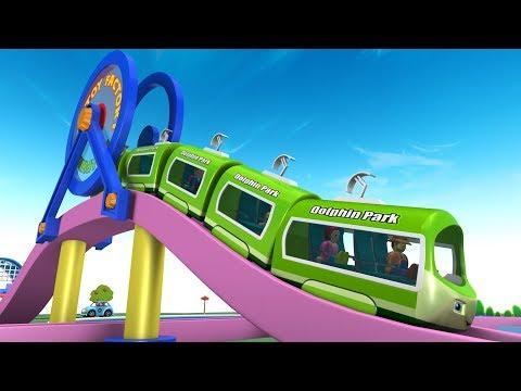 Cartoon Train - Toy Train for children - Kids Videos for Kids - Chu Chu Cartoon - Toy Factory Trains
