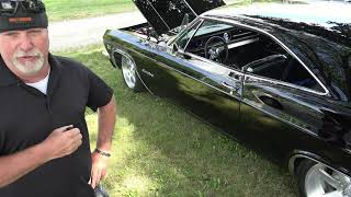 USClassicMuscleCars Top Picks -1965 Chevelle Impala - Stunning Black &Engine Start