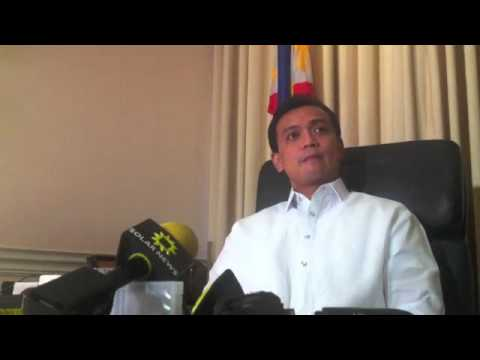 Trillanes interview part 1/4