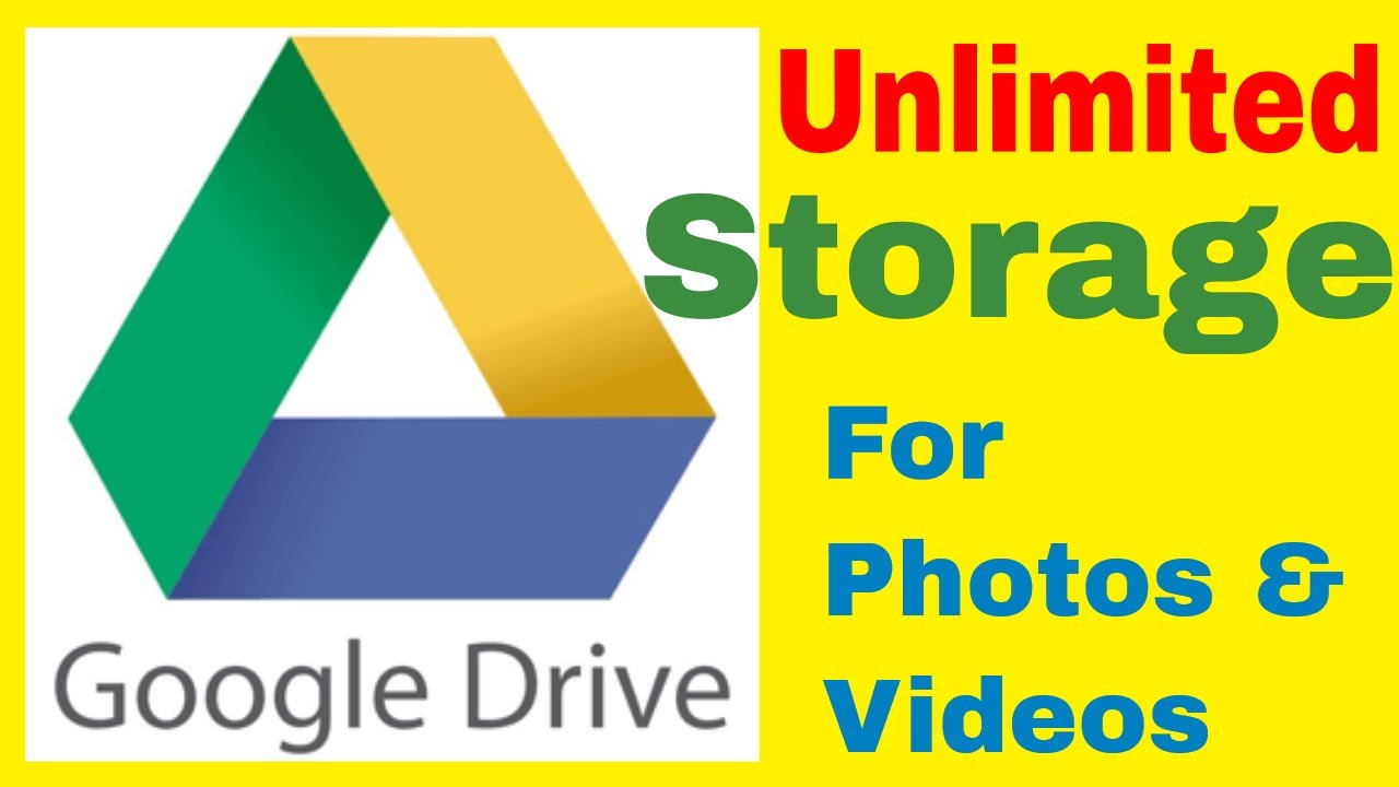 How To Increase Unlimited Google Drive Storage For Free Youtube