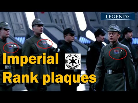 Imperial Officer Ranks & Insignia Plaques and Code Cylinders Explained [Star Wars, Galactic Empire]