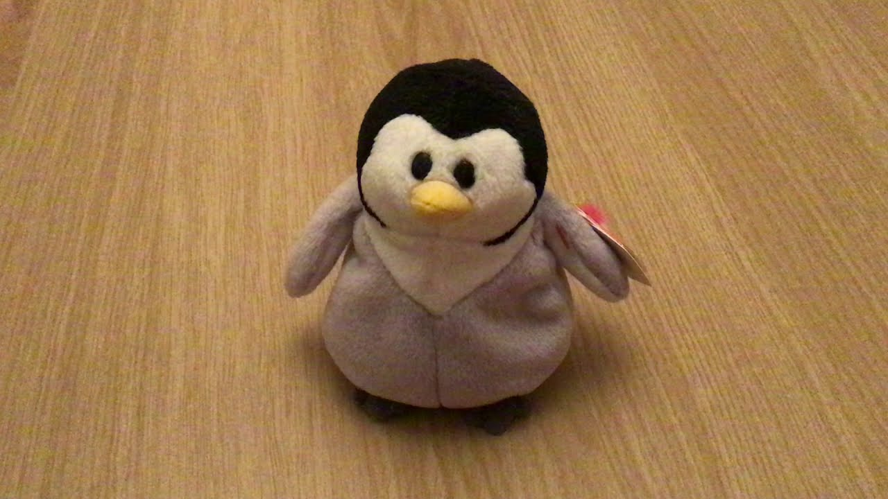 c2833908b7b Slapshot the TY Beanie Baby - YouTube