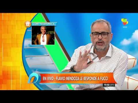 Flavio Mendoza vs Verónica Fucci, nuevo round al aire