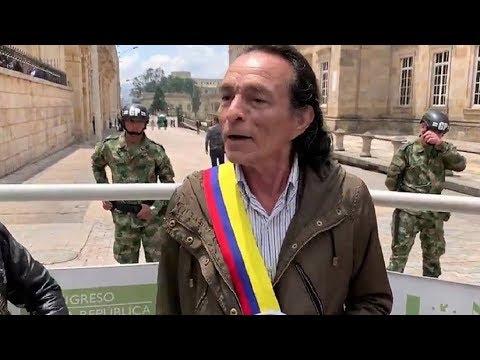 Un hombre se autoproclama 'presidente' de Colombia