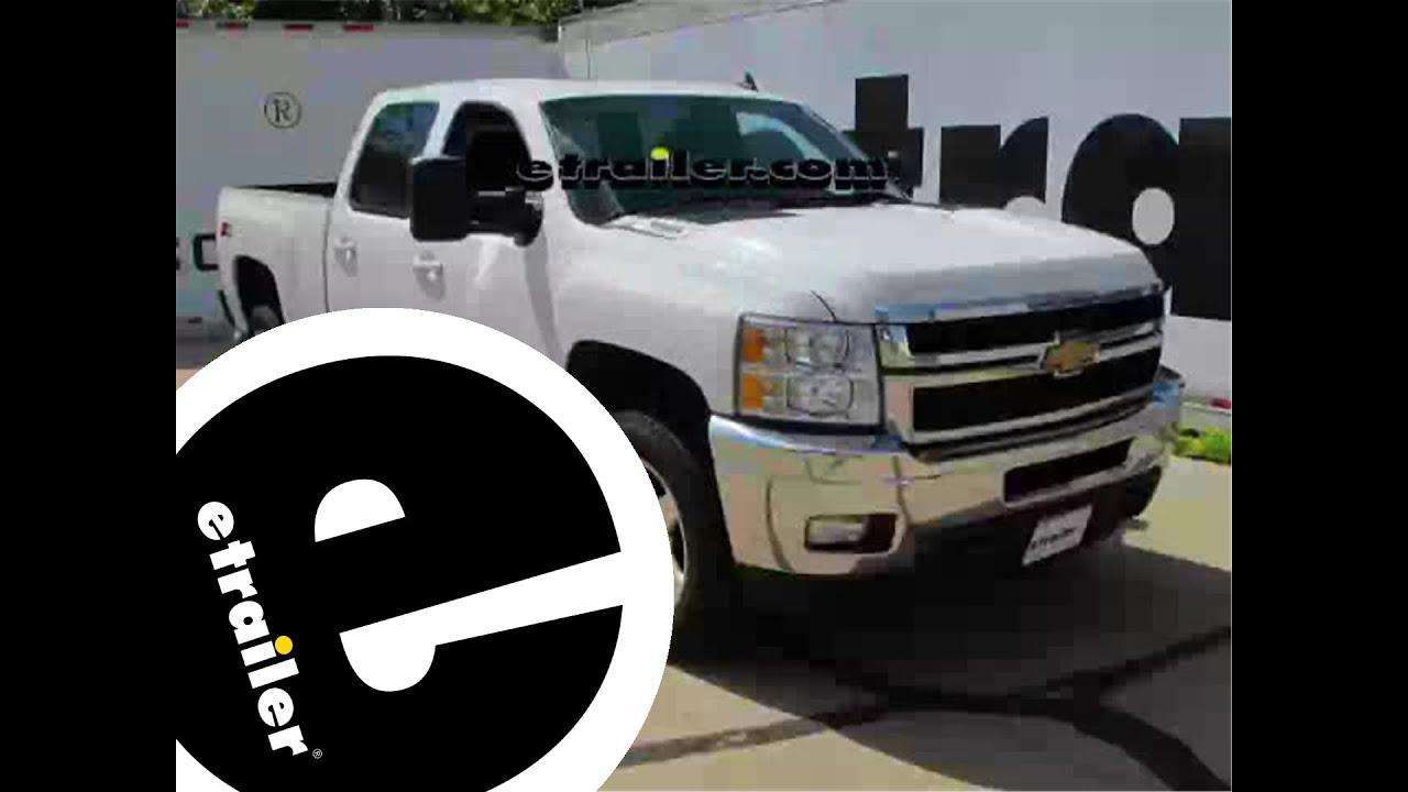 Trailer Wiring Harness Installation  2014 Chevrolet