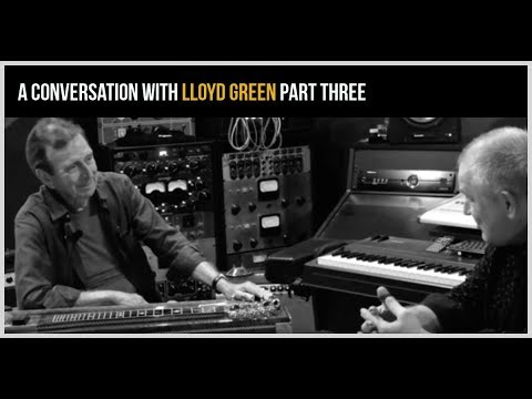 A Conversation With Lloyd Green Part 3