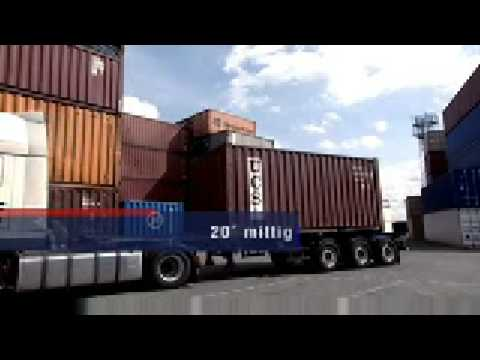 Containerchassis von Schmitz Cargobull AG The TrailerCompany
